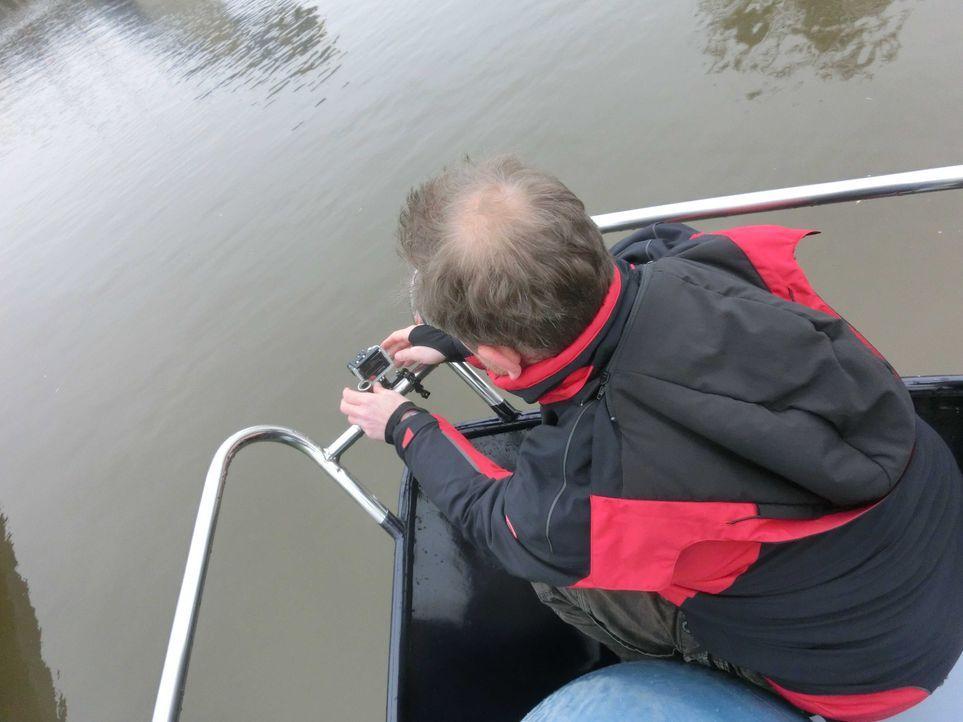 GoPro Kamera wird fest gemacht