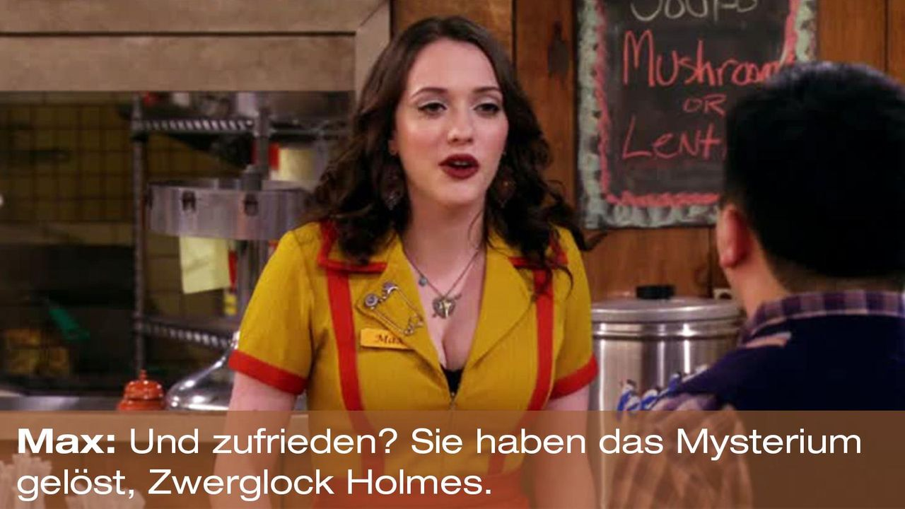 2-broke-girls-zitat-quote-staffel2-episode9-boss-max-zwerlockholmes-warnerpng 1600 x 900 - Bildquelle: Warner Brothers