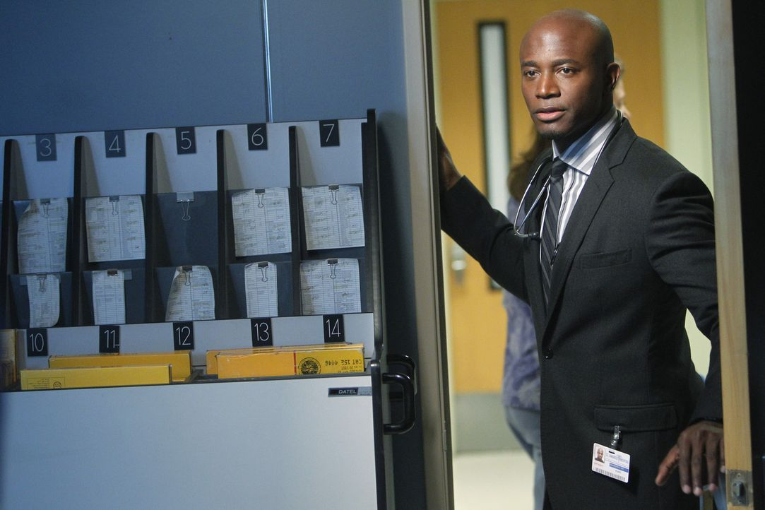 Ist von Bizzys Verhalten entsetzt: Sam (Taye Diggs) ... - Bildquelle: ABC Studios