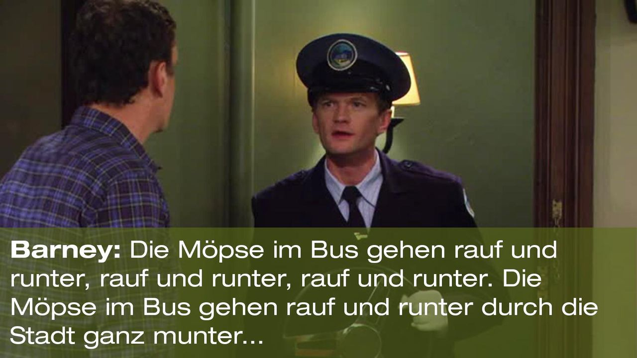 how-i-met-your-mother-zitat-quote-staffel-8-episode-4-godfather-moechte-pate-8-barney-foxpng 1600 x 900 - Bildquelle: 20th Century Fox