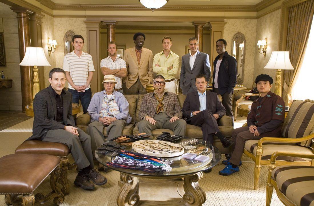 Als der Casino-Mogul Willie Bank Gang-Mitglied ReubenTishkoff bei einem gemeinsamen Geschäft schamlos abzockt, und damit ins Krankenhaus bringt, ru... - Bildquelle: TM &   Warner Bros. All Rights Reserved