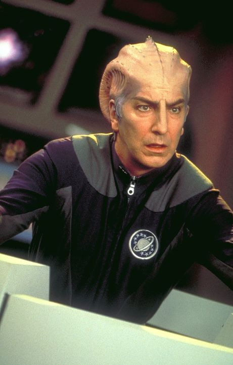 Sie sind keine Astronauten... die haben sie doch nur im Fernsehen gespielt. Doch jetzt holt Alexander Dane (Alan Rickman) die harte Wirklichkeit ein... - Bildquelle: DreamWorks Distribution LLC