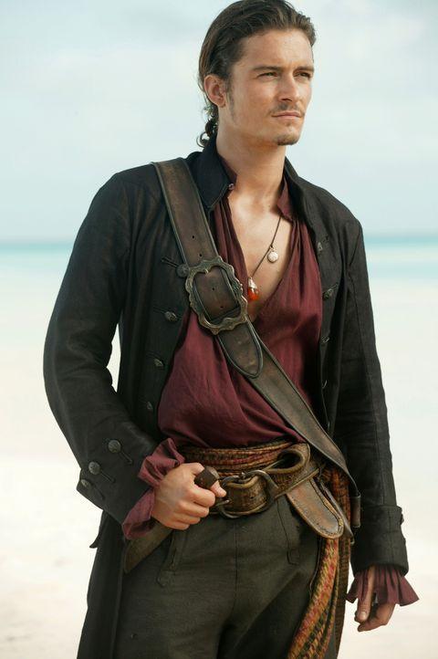 Will Turner (Orlando Bloom) und Elizabeth Swann bleibt keine Wahl: Um Captain Jack Sparrow aus Davy Jones' Gefangenschaft zu retten, müssen sie sich... - Bildquelle: Peter Mountain Disney Enterprises, Inc.  All rights reserved