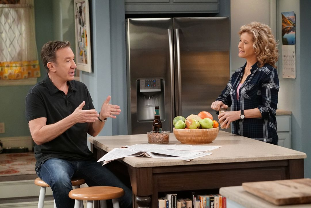 Mike (Tim Allen, l.); Vanessa (Nancy Travis, r.) - Bildquelle: 2016-2017 American Broadcasting Companies. All rights reserved.