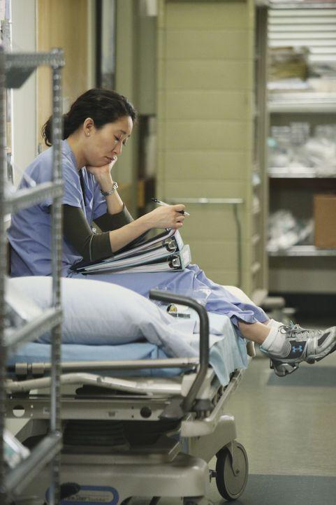 Macht mit Owen Schluss, denn die ungewisse Situation, wen er nun liebt, ist für sie nicht mehr tragbar: Cristina (Sandra Oh) ... - Bildquelle: Touchstone Television