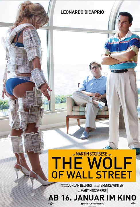 Plakat Wolf of Wall Street 2 - Bildquelle: Universal Film