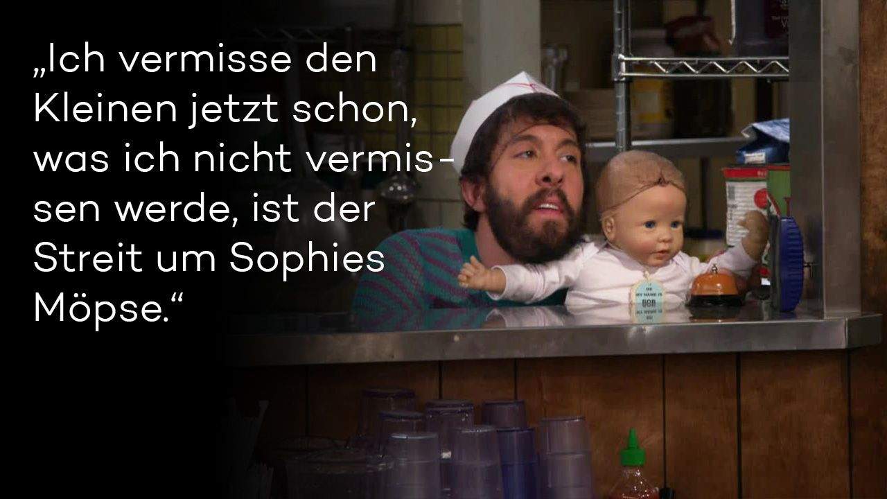 "Zitate aus ""2 Broke Girls"" Staffel 5 - Bild 2 - Bildquelle: Warner Brothers"