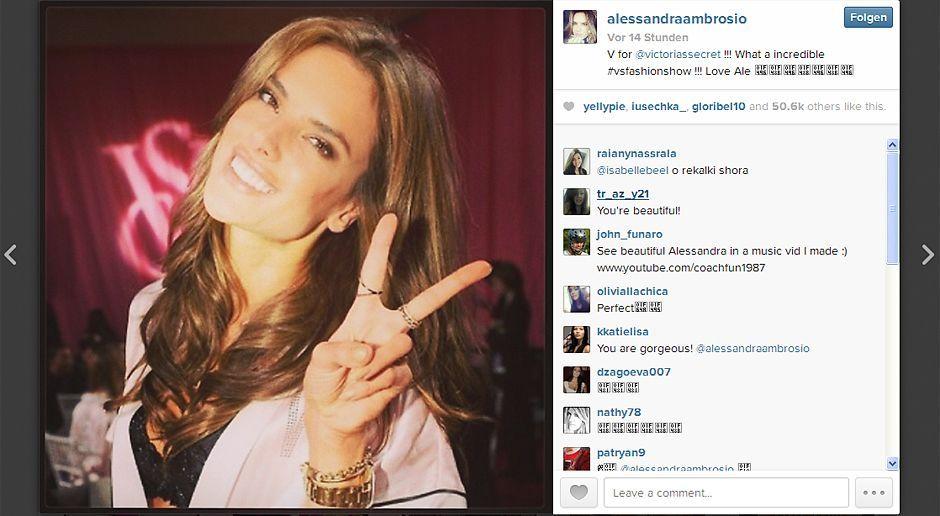 VS-Instagram-18-Instagram - Bildquelle: Instagram/Alessandra Ambrosio