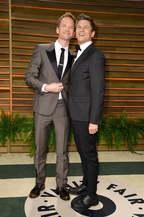 Oscars-Vanity-Fair-Party-Neil-Patrick-Harris-David-Burtka-140302-getty-AFP - Bildquelle: getty-AFP