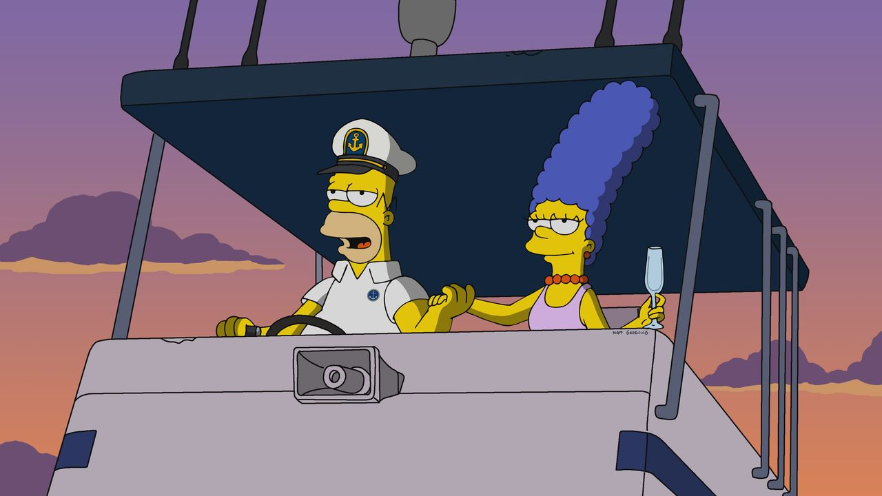 Homer (l.); Marge (r.) - Bildquelle: 2019-2020 Twentieth Century Fox Film Corporation.  All rights reserved.