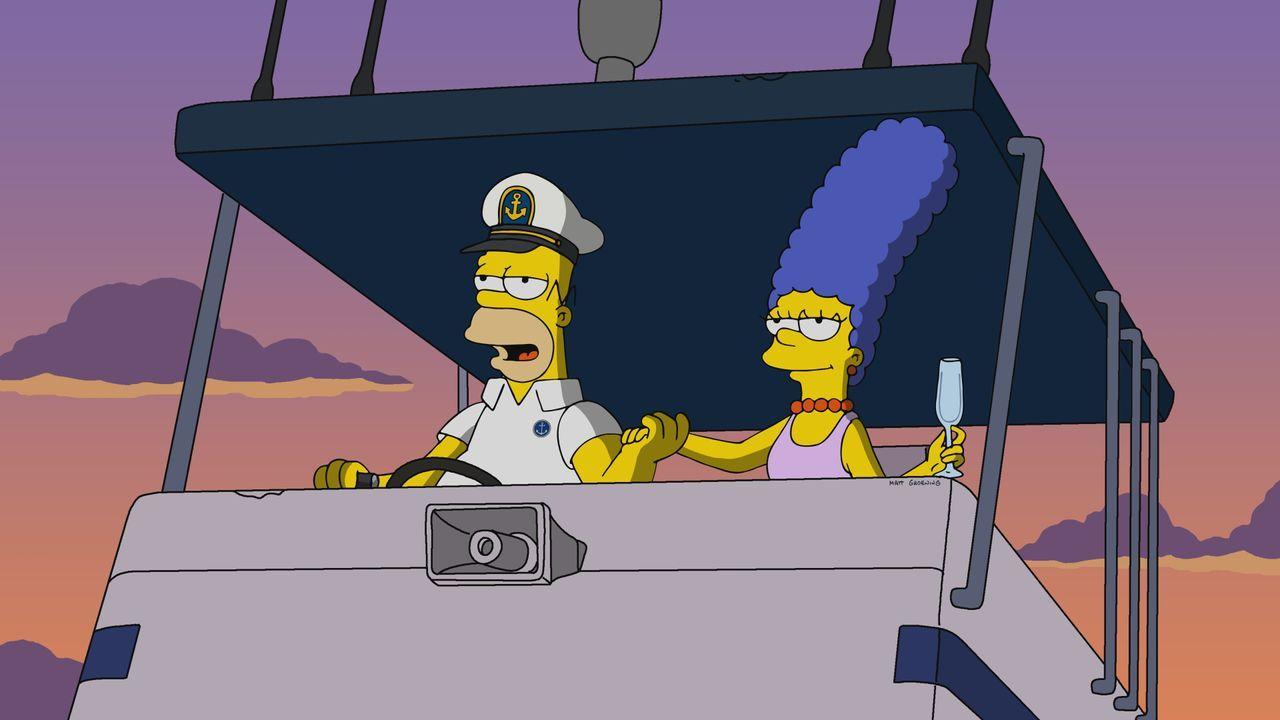 Homer (l.); Marge (r.) - Bildquelle: 2019-2020 Twentieth Century Fox Film Corporation.  All rights reserved.