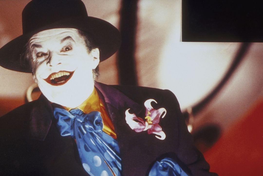Dem Joker (Jack Nicholson)  wird das Grinsen schon bald vergehen ... - Bildquelle: Warner Bros.