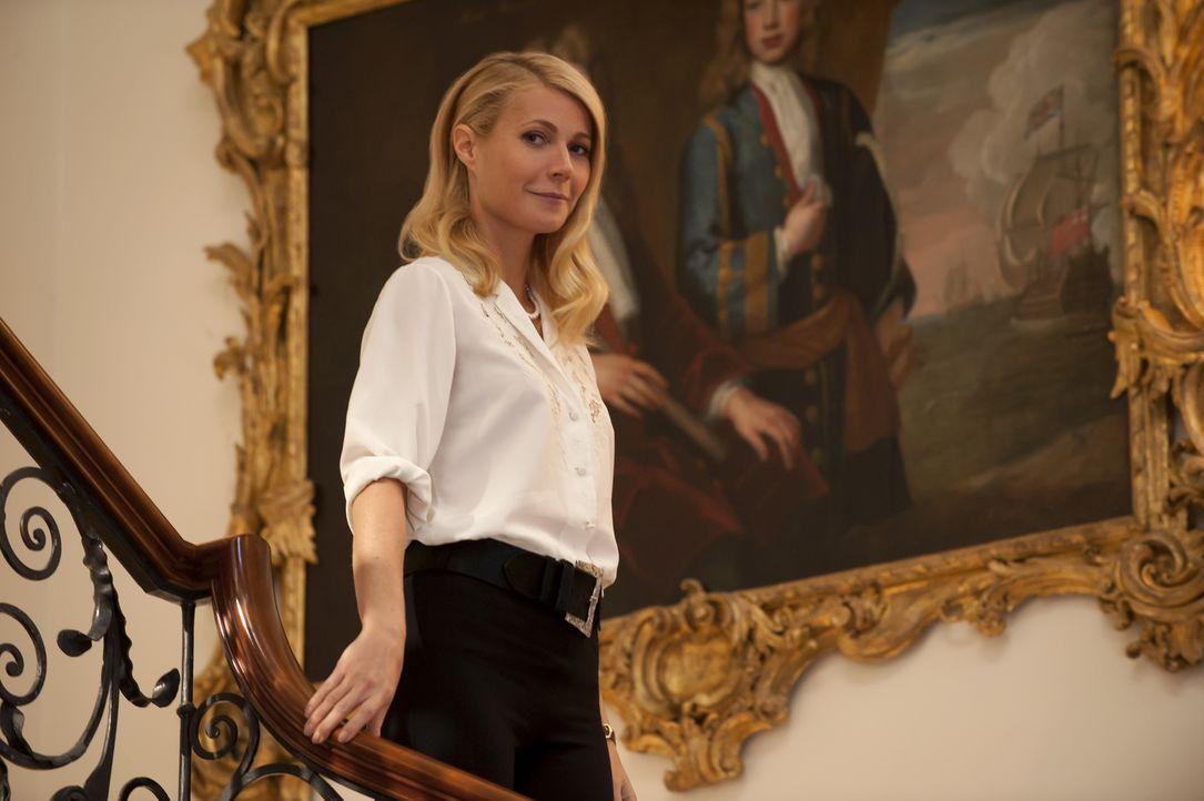 Als ihr Mann, Lord Mortdecai, in finanzielle Schwierigkeiten gerät, entschließt sich Johanna (Gwyneth Paltrow) dazu, einige Kunstschätze von ihm bei... - Bildquelle: 2014 LIONS GATE ENTERTAINMENT INC. ALL RIGHTS RESERVED.