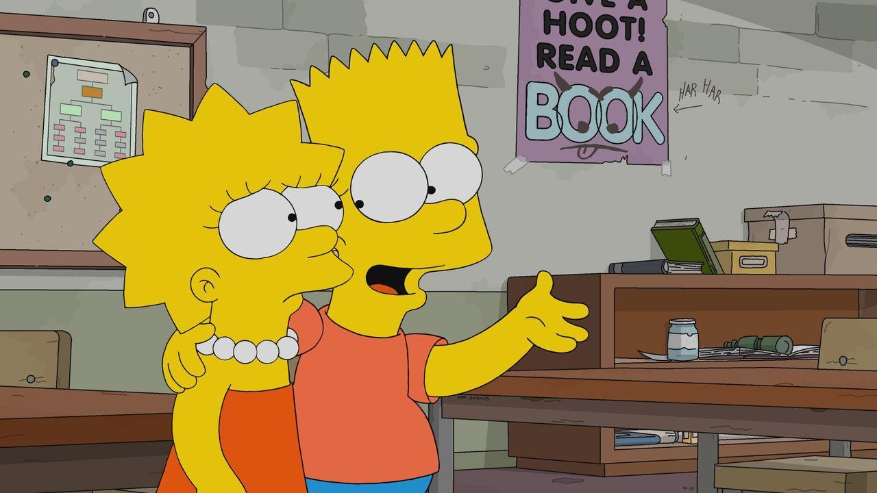 Lisa (l.); Bart (r.) - Bildquelle: 2020 by Twentieth Century Fox Film Corporation.