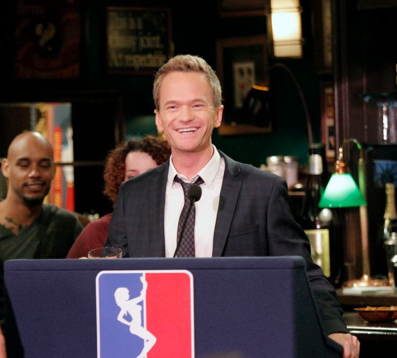 Während Marshall einen Fehler begeht, versucht Barney (Neil Patrick Harris), seine Rückkehr auf die Strip Club Meile zu verhandeln ... - Bildquelle: 2012 Twentieth Century Fox Film Corporation. All rights reserved.