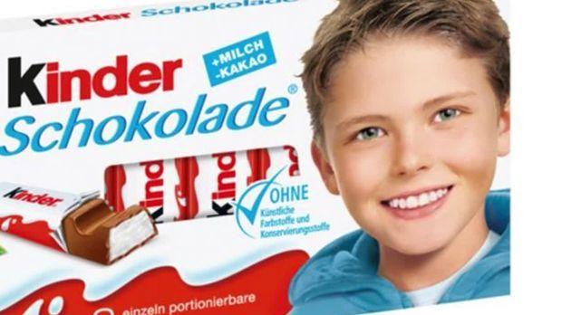 Kinderschokolade Kind Heute