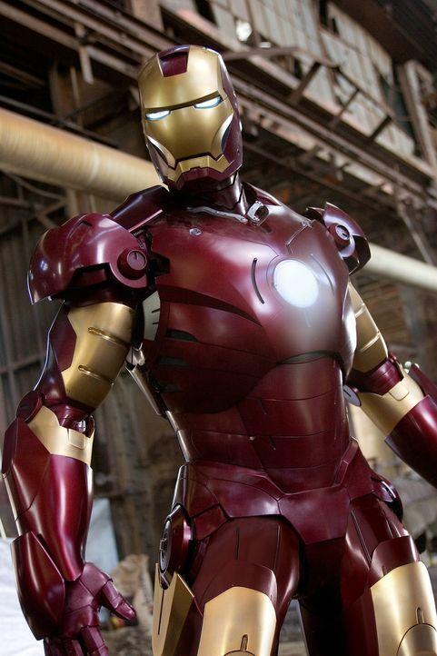 Auch ohne übernatürliche Superkräfte ein Held: Iron Man (Robert Downey Jr.) ... - Bildquelle: 2008 MVL Film Rinance LLC. All Rights reserved.
