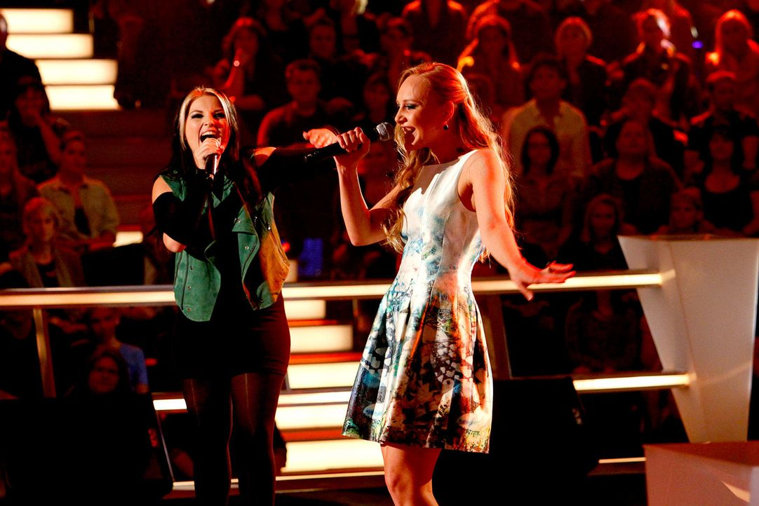 battle-lida-vs-mel-03-the-voice-of-germany-richard-huebnerjpg 1700 x 1134 - Bildquelle: SAT.1/ProSieben/Richard Hübner
