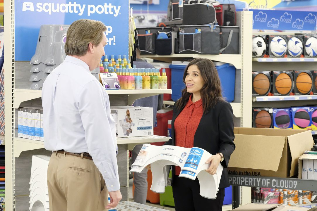 Glenn (Mark McKinney, l.); Amy (America Ferrera, r.) - Bildquelle: Trae Patton 2018 NBCUniversal Media, LLC / Trae Patton