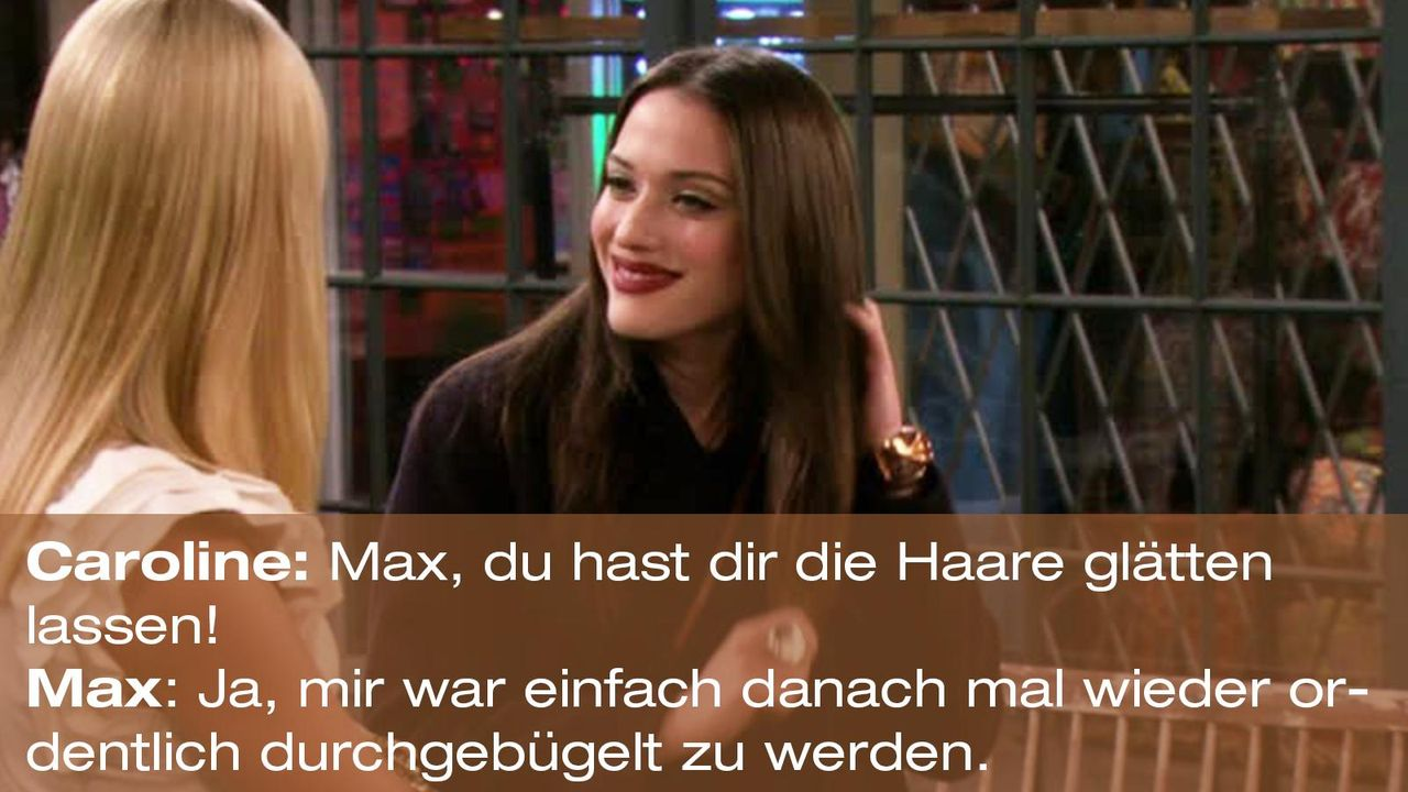 2-broke-girls-zitat-quote-staffel2-episode10-grosse-eroeffnung-max-gebuegelt-warnerpng 1600 x 900 - Bildquelle: Warner Bros. International Television