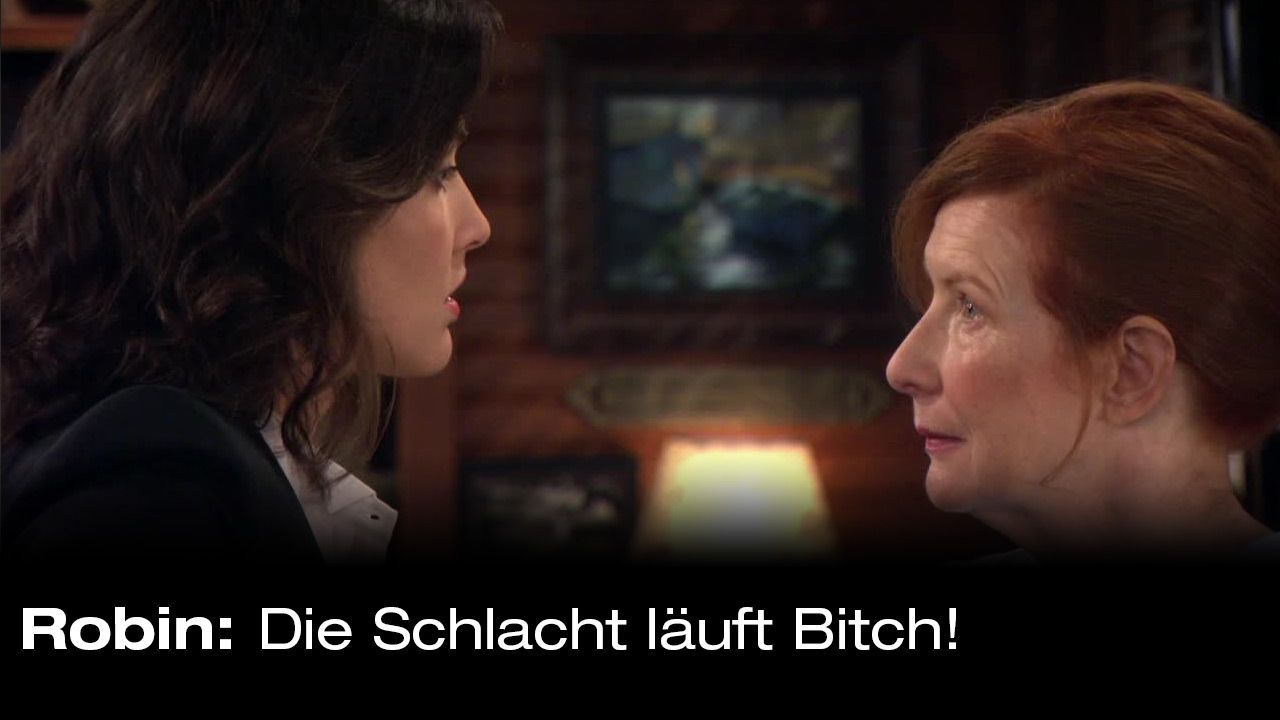 How-I-Met-Your-Mother-Zitate-Staffel-9-29-Robin-Schlacht - Bildquelle: 20th Century Fox Film Corporation all rights reserved.