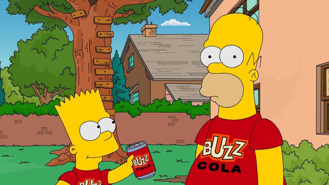 Bart (l.); Homer (r.) - Bildquelle: 2019-2020 Twentieth Century Fox Film Corporation.  All rights reserved.