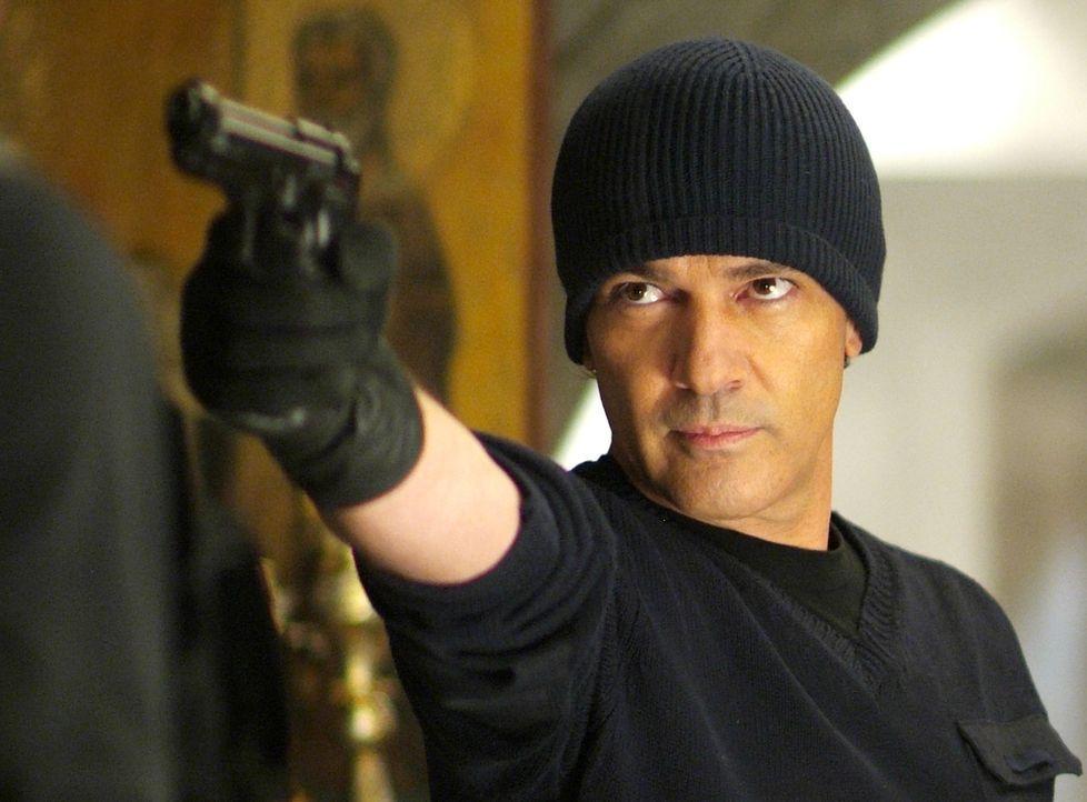 Hat es auf Keith Ripley abgesehen: Gabriel Martin (Antonio Banderas) ... - Bildquelle: Nu Image