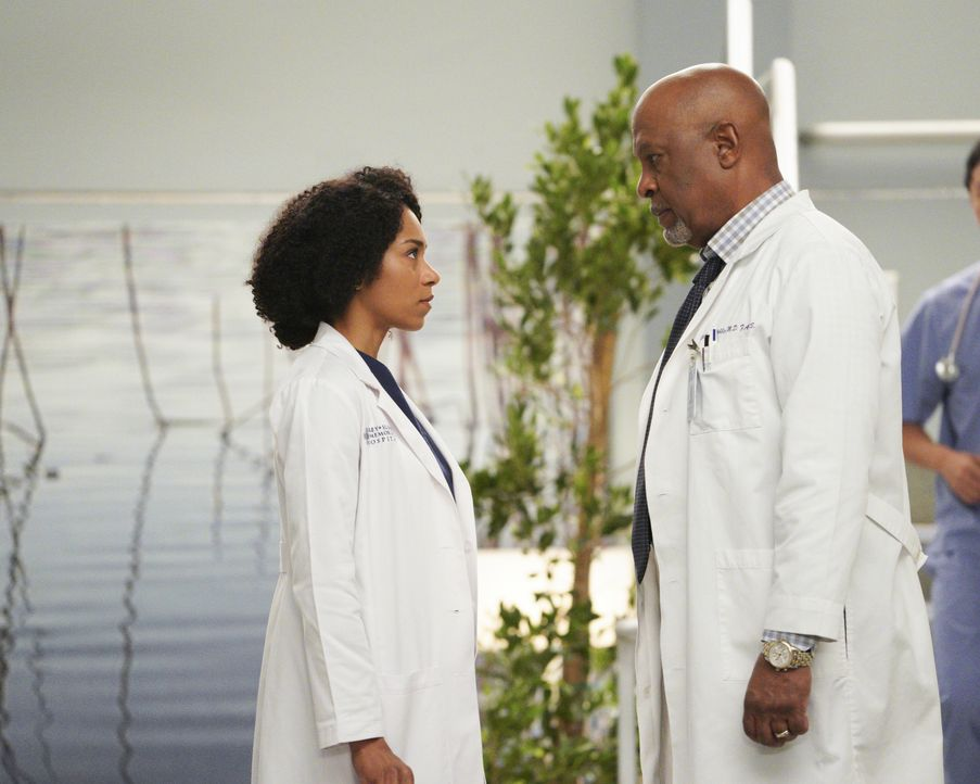 Dr. Maggie Pierce (Kelly McCreary, l.); Dr. Richard Webber (James Pickens Jr., r.) - Bildquelle: Christopher Willard 2020 American Broadcasting Companies, Inc. All rights reserved. / Christopher Willard