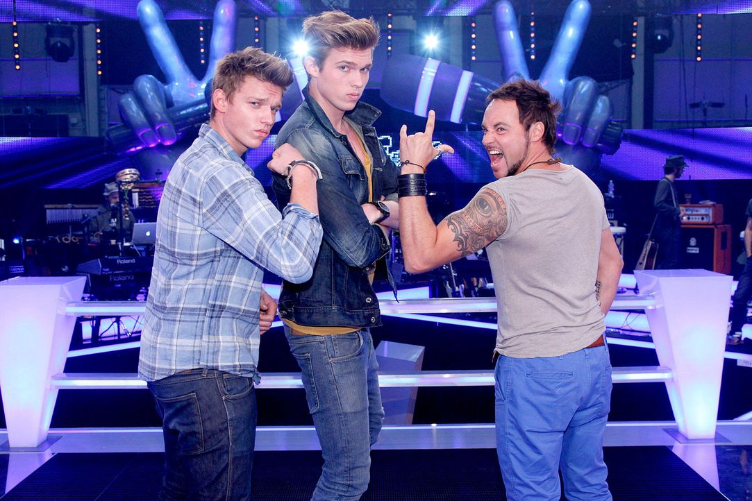 battle-rob-brueder-hain-02-the-voice-of-germany-richard-huebnerjpg 1700 x 1133 - Bildquelle: SAT.1/ProSieben/Richard Hübner
