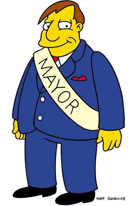 (15. & 16. Staffel) - Bürgermeister Joe Quimby - Bildquelle: und TM Twentieth Century Fox Film Corporation - Alle Rechte vorbehalten