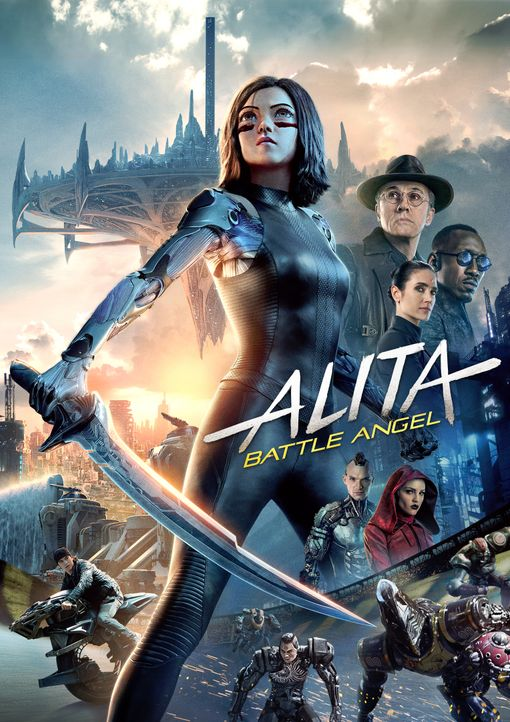 Alita: Battle Angel - Artwork - Bildquelle: 2019 Twentieth Century Fox Film Corporation.  All rights reserved.