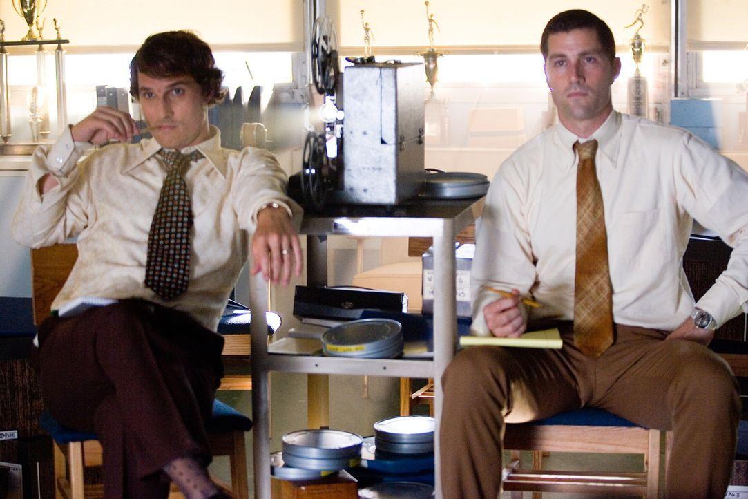 Kämpfen für das, woran sie glauben: Jack Lengyel (Matthew McConaughey) und Red Dawson (Matthew Fox) .. - Bildquelle: TM &   2005 Warner Bros. All Rights Reserved.