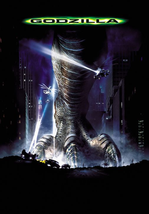 Godzilla - Plakat - Bildquelle: 1998 TriStar Pictures, Inc. All Rights Reserved.
