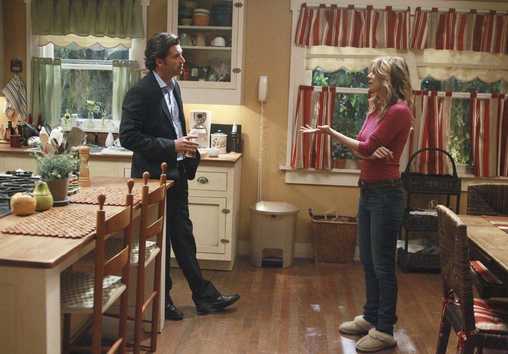 Nach alldem was geschehen ist, steht ihre Ehe auf dem Spiel. Doch können Meredith (Ellen Pompeo, r.) und Derek (Patrick Dempsey, l.) diese noch ret... - Bildquelle: ABC Studios