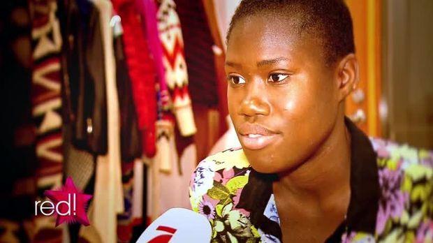 red. im TV - Video - Topmodel: Aminata bricht zusammen