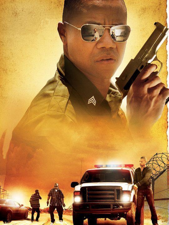 Linewatch - Artwork - Der Border Patrol Agent Michael Dixon (Cuba Gooding jr.) wird von der eigenen Vergangenheit als Mitglied einer Jugendbande ein... - Bildquelle: 2008 Worldwide SPE Acquisitions Inc. All Rights Reserved.