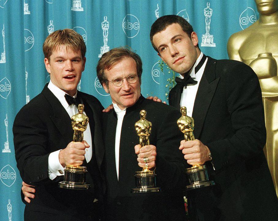 matt-damon-ben-affleck-robinwilliams-academy-awards-98-03-24-afpjpg 2000 x 1592 - Bildquelle: AFP