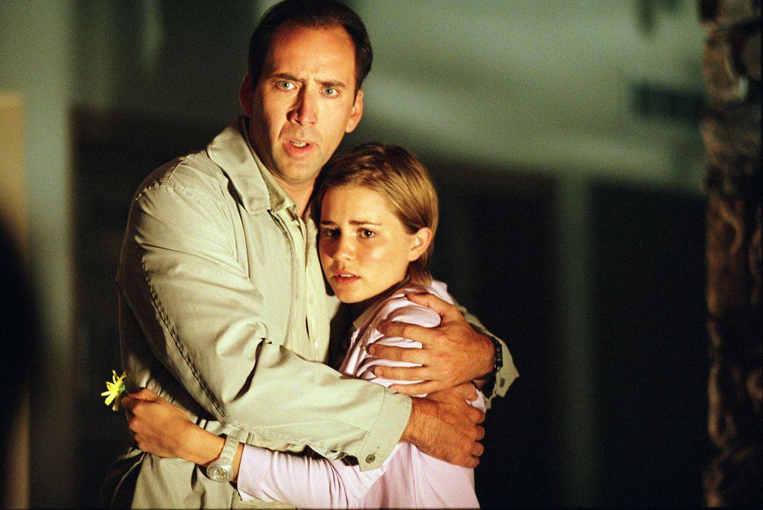 Starten einen letzten Coup: Doch für Roy (Nicolas Cage, l.), Angela (Alison Lohman, r.) und Frank läuft nicht alles nach Plan ... - Bildquelle: Warner Bros. Pictures