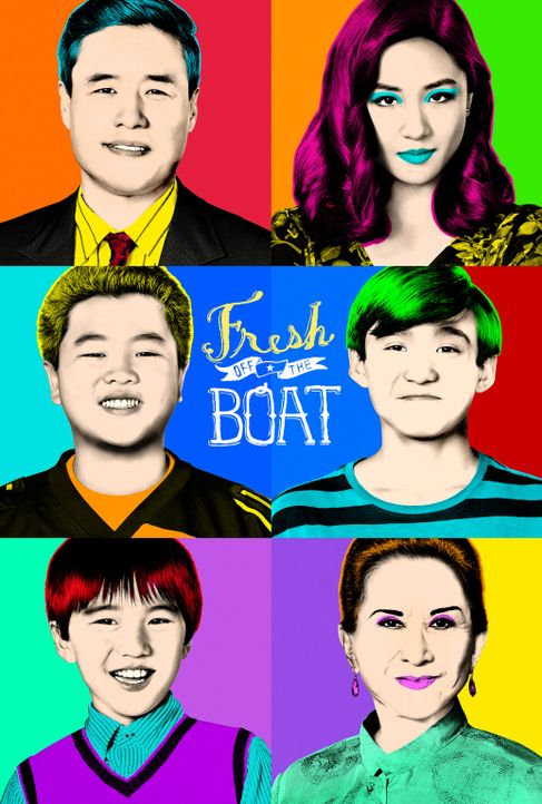 (5. Staffel) - Fresh off the boat - Artwork - Bildquelle: 2018-2019 American Broadcasting Companies.  All rights reserved.