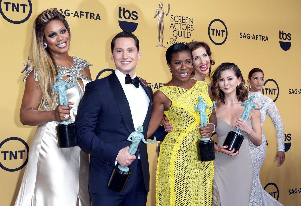 SAG-Awards-Cast-Orange-is-the-New-Black-15-01-25-dpa - Bildquelle: dpa