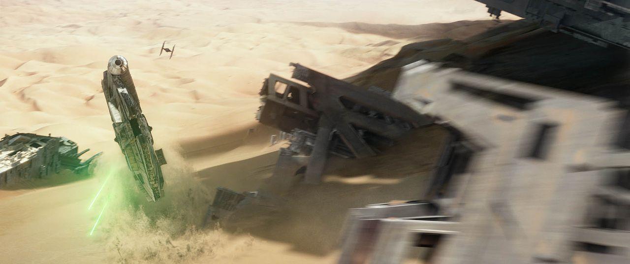 Star-Wars-Das-Erwachen-der-Macht-15-Lucasfilm - Bildquelle: Lucasfilm 2015