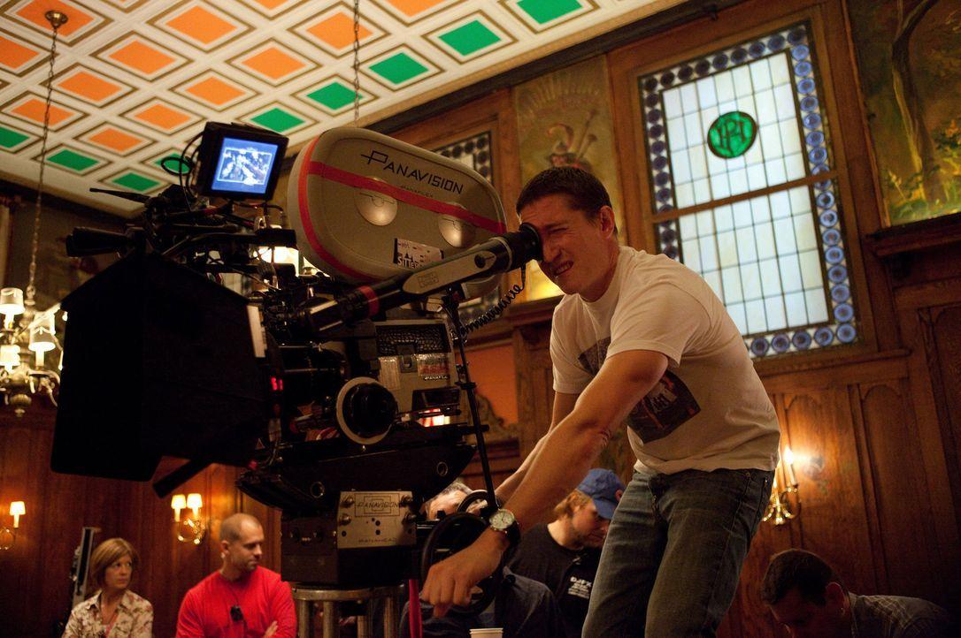 Regisseur David Gordon Green während der Dreharbeiten ... - Bildquelle: Jessica Miglio 2011 Twentieth Century Fox Film Corporation. All rights reserved.