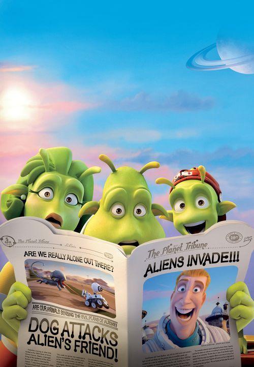 Planet 51! Etwas seltsames landet auf ihrem Planeten? Wir! - Bildquelle: 2009 Columbia TriStar Marketing Group, Inc.  All Rights Reserved.