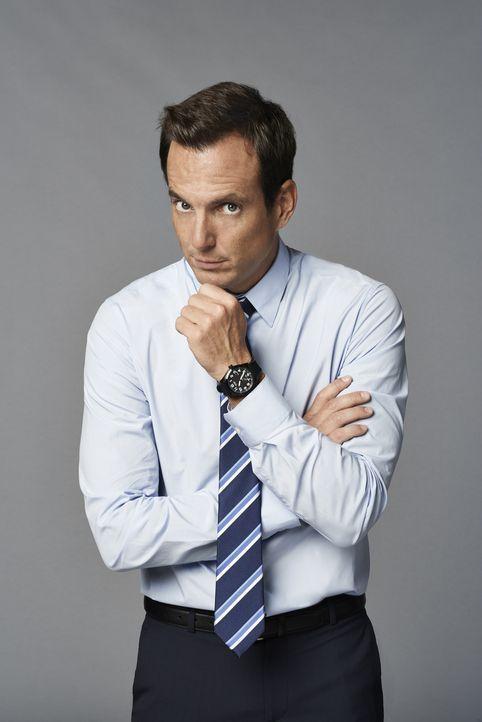 (1. Staffel) - Nate Miller (Will Arnett) hat sich kürzlich von seiner Frau scheiden lassen und sieht einem Neuanfang im Leben entgegen. Doch als sic... - Bildquelle: 2013 CBS Broadcasting, Inc. All Rights Reserved.