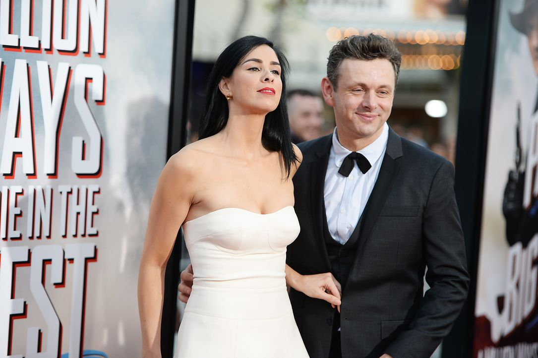 A-Million-Ways-To-Die-In-The-West-Premiere-LA-Sarah-Silverman-Michael-Sheen-140515-getty-AFP - Bildquelle: AFP