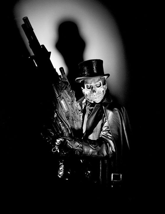"""Londons Unterwelt zittert - ein Schurkenmörder genannt """"Der Wixxer"""" (Thomas Heinze) treibt in Englands Hauptstadt sein Unwesen ... - Bildquelle: Rat Pack Filmproduktion GmbH"""