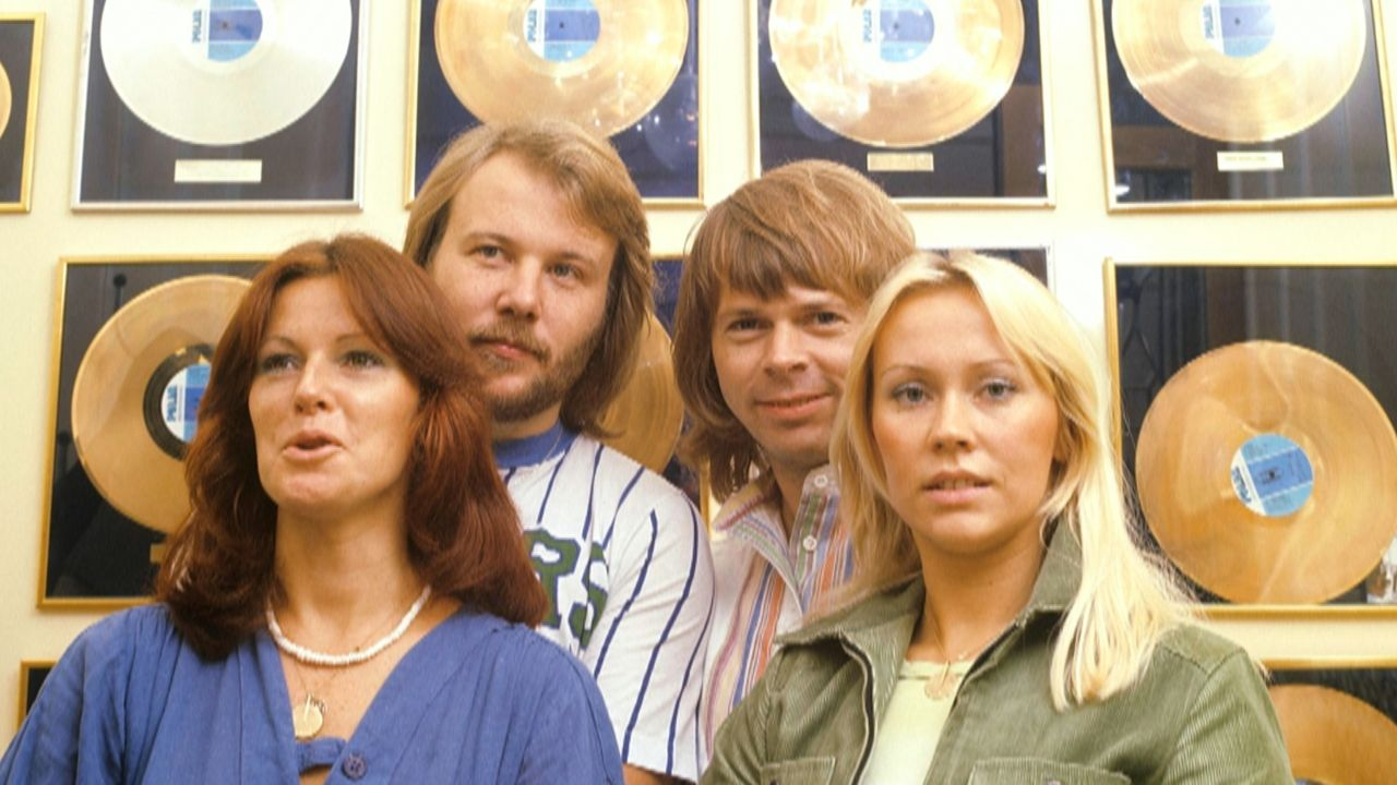 (v.l.n.r.) Anni-Frid Lyngstad; Benny Andersson; Björn Ulvaeus; Agnetha Fältskog - Bildquelle: Channel 5 Broadcasting LTD 2020 All Rights Reserved.