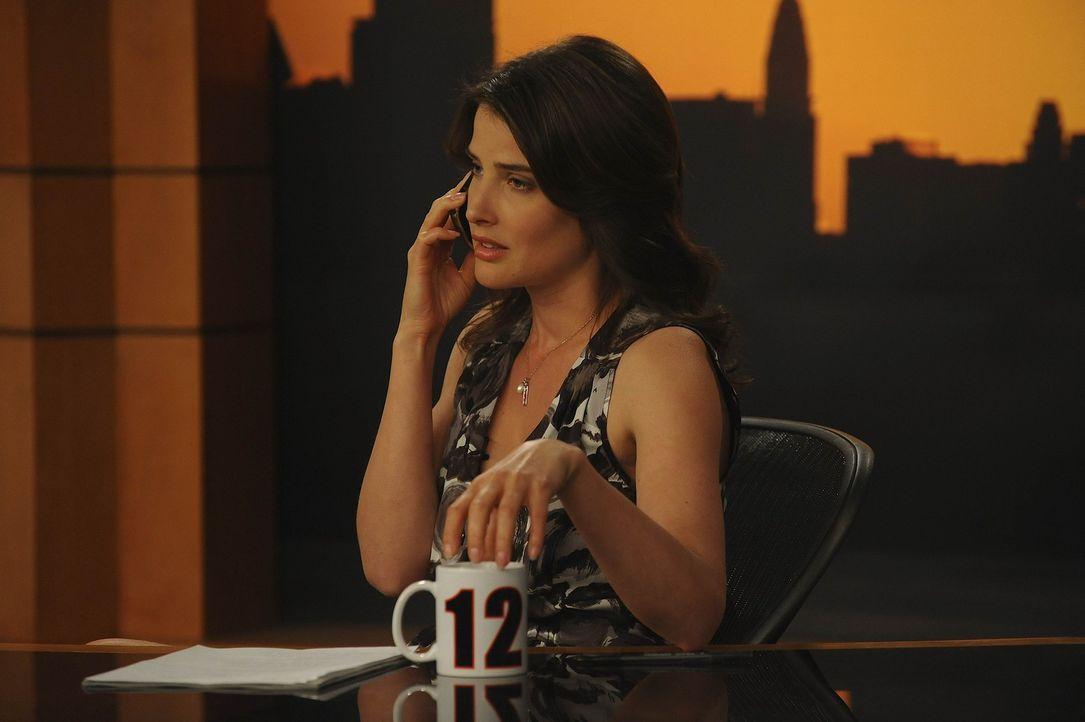 Wünscht sich in ihrer Sendung, endlich ein tolles Interview: Robin (Cobie Smulders) ... - Bildquelle: 20th Century Fox International Television