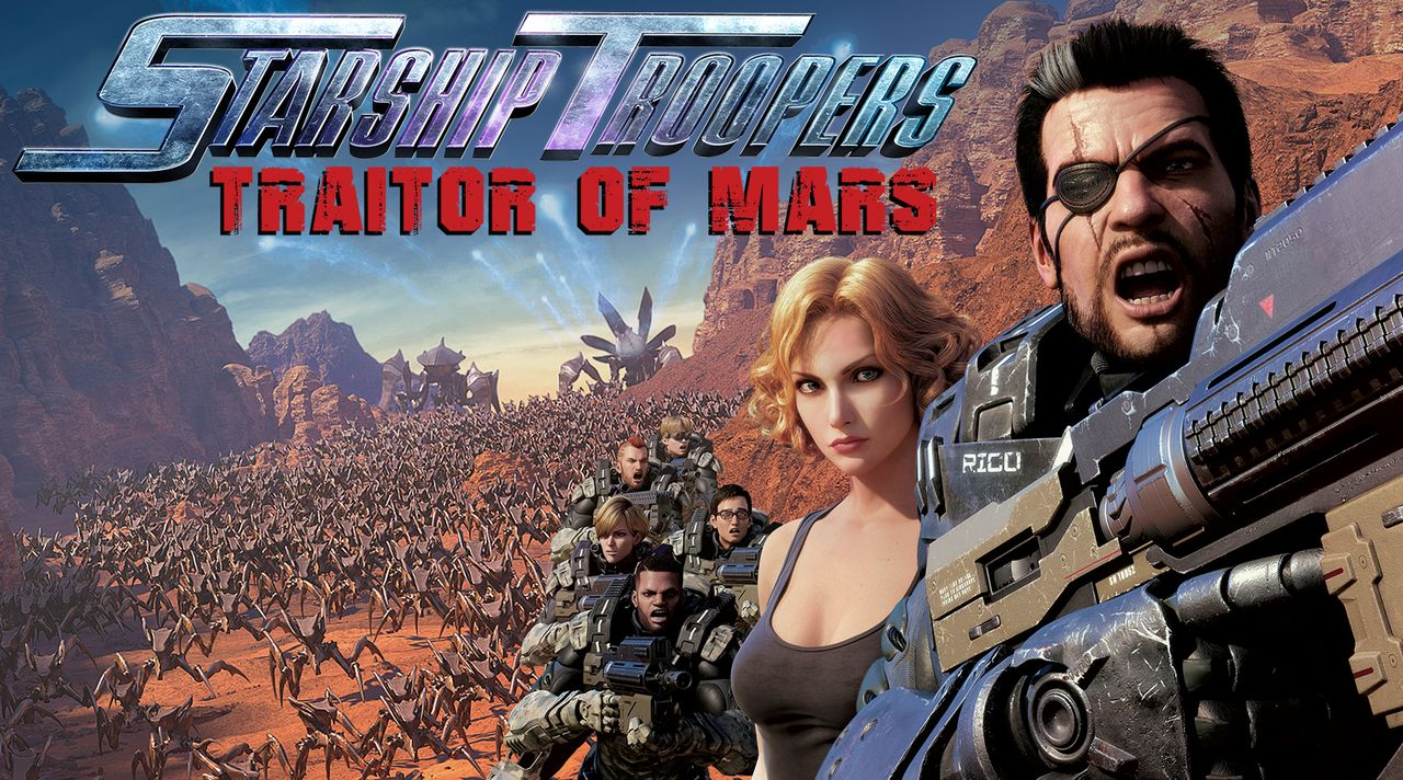 Starship Troopers: Traitor of Mars - Artwork - Bildquelle: 2017 Sony Pictures Worldwide Acquisitions Inc. All Rights Reserved.