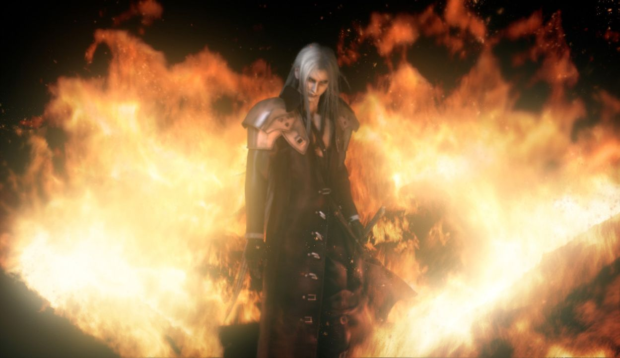 Will die Weltherrschaft: Sephiroth ... - Bildquelle: 2005 Square Enix Co., LTD. All Rights Reserved.